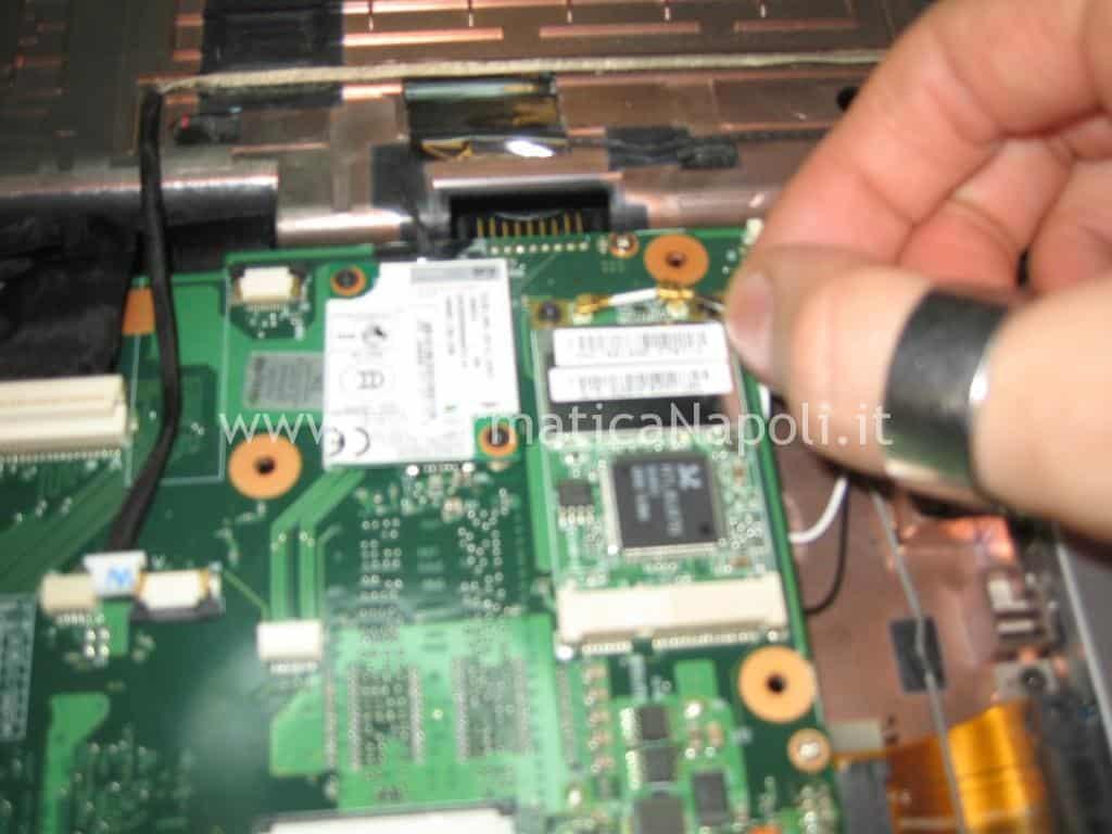 scheda wifi toshiba satellite l350
