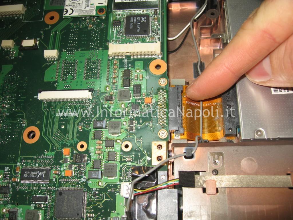 flat masterizzatore dvd toshiba satellite l350