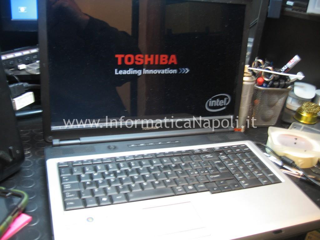 Toshiba satellite l350 funzionante riparato