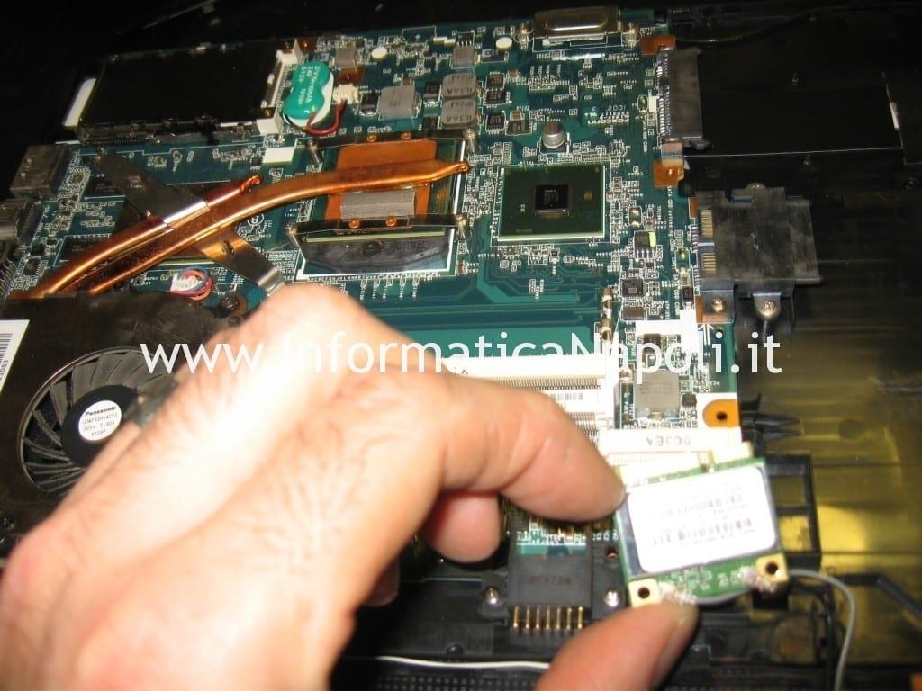 reballing sony vaio VPCEB1A4E PCG-71211M
