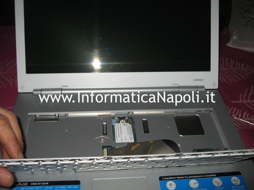 aprire Sony Vaio VGN-N11S PCG-7T1M