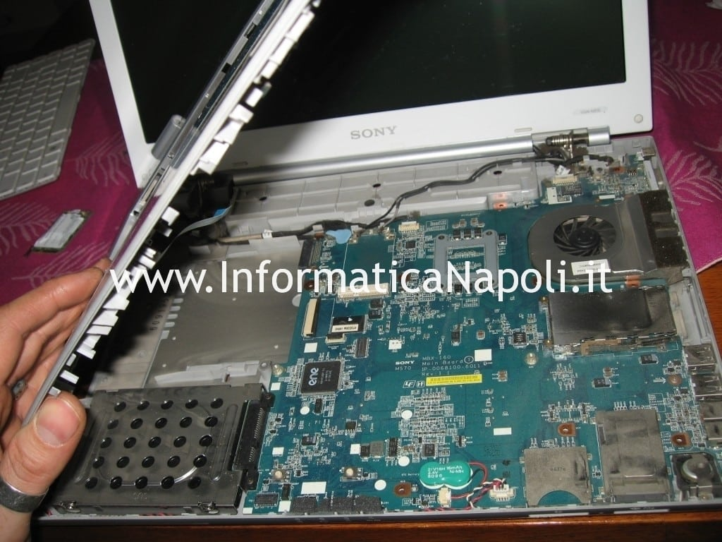scheda madre Sony Vaio VGN-N11S PCG-7T1M