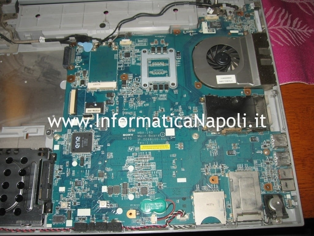 motherboard Sony Vaio VGN-N11S PCG-7T1M