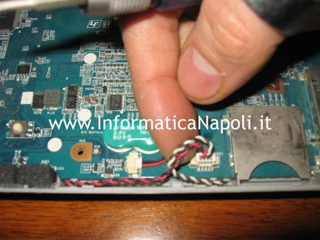problema Sony Vaio VGN-N11S PCG-7T1M