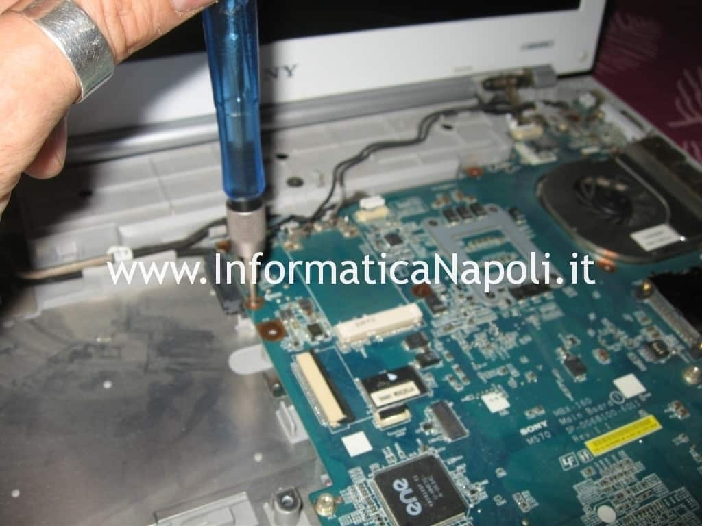 problemi Sony Vaio VGN-N11S PCG-7T1M