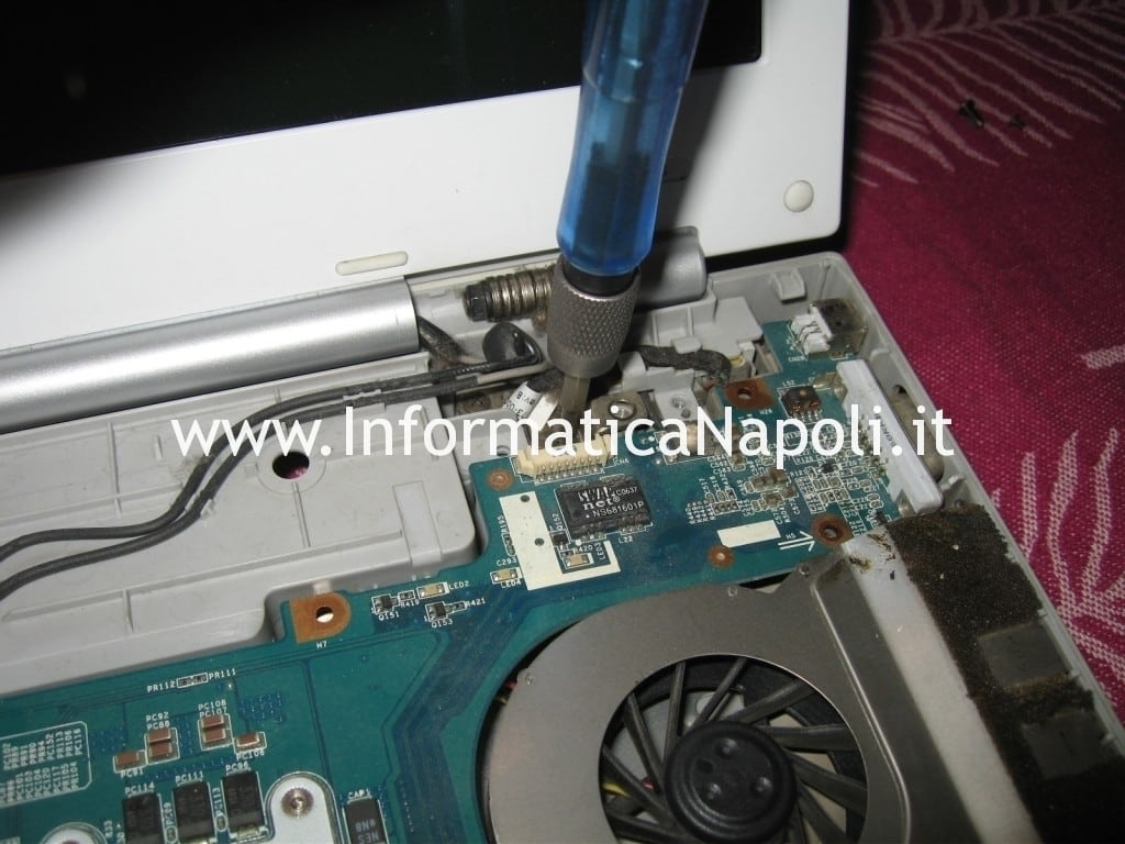 Sony Vaio VGN-N11S PCG-7T1M problema ventola