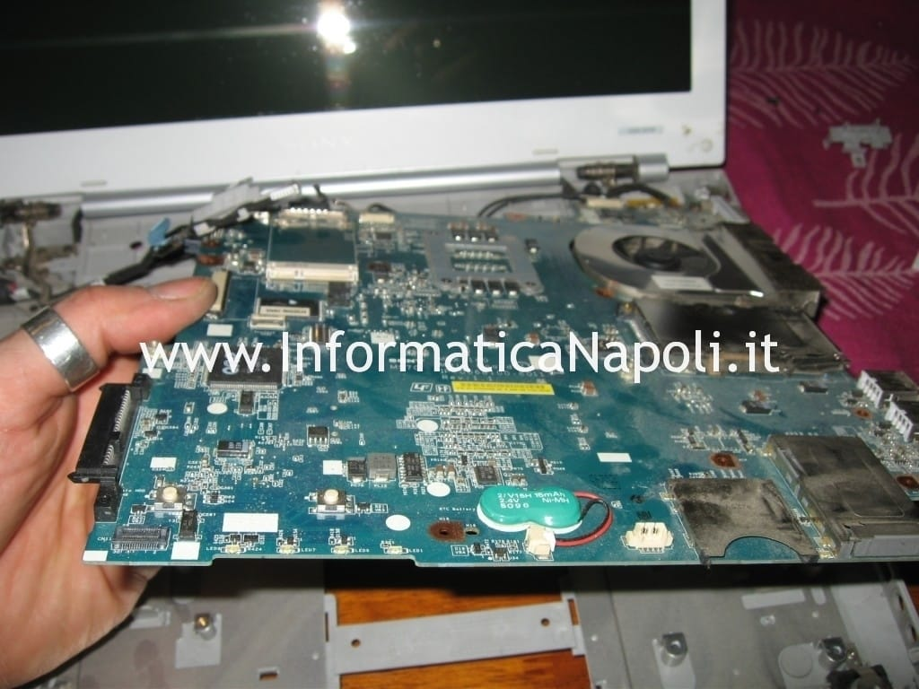 Sony Vaio VGN-N11S PCG-7T1M si spegne
