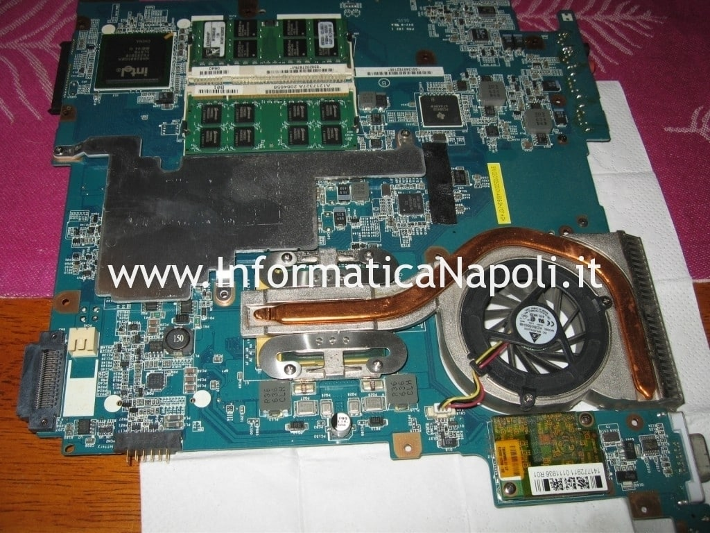Sony Vaio VGN-N11S PCG-7T1M ventola dissipatore