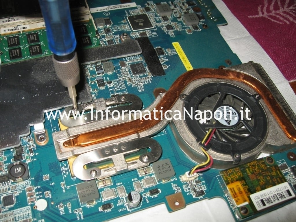 Sony Vaio VGN-N11S PCG-7T1M dissipatore