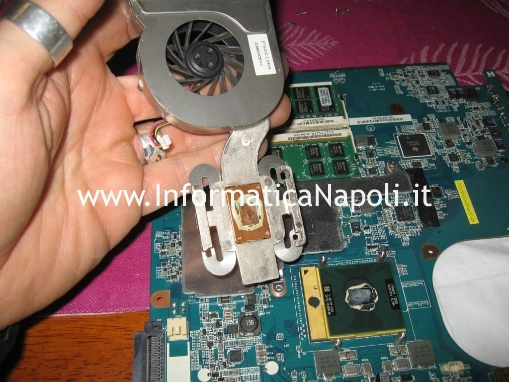 pasta termica Sony Vaio VGN-N11S PCG-7T1M