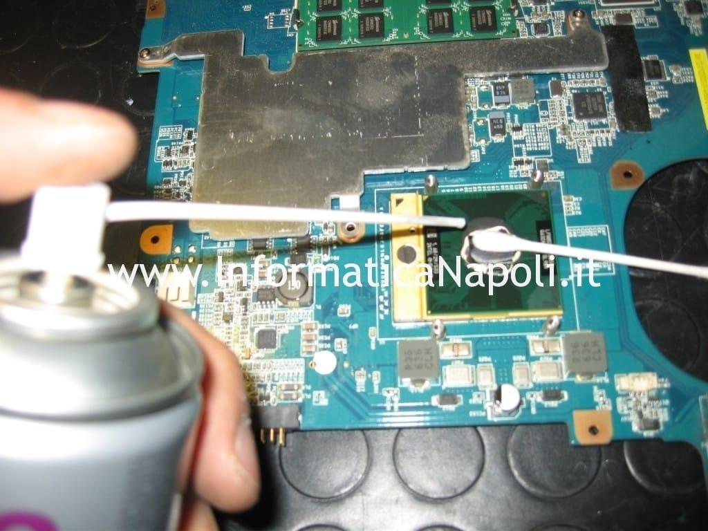 CPU GPU Sony Vaio VGN-N11S PCG-7T1M