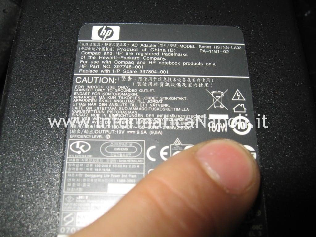 alimentatore power HP Pavilion HDX9000 HDX9050EL