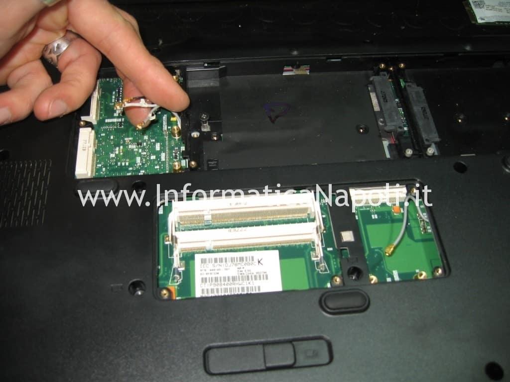 reballing HP Pavilion HDX9200 HDX9490EL