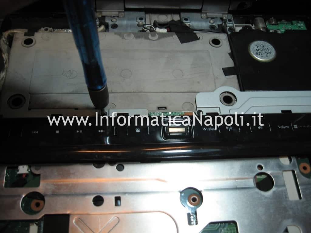 maschera touch lettore impronte HP Pavilion HDX9000 HDX9050EL