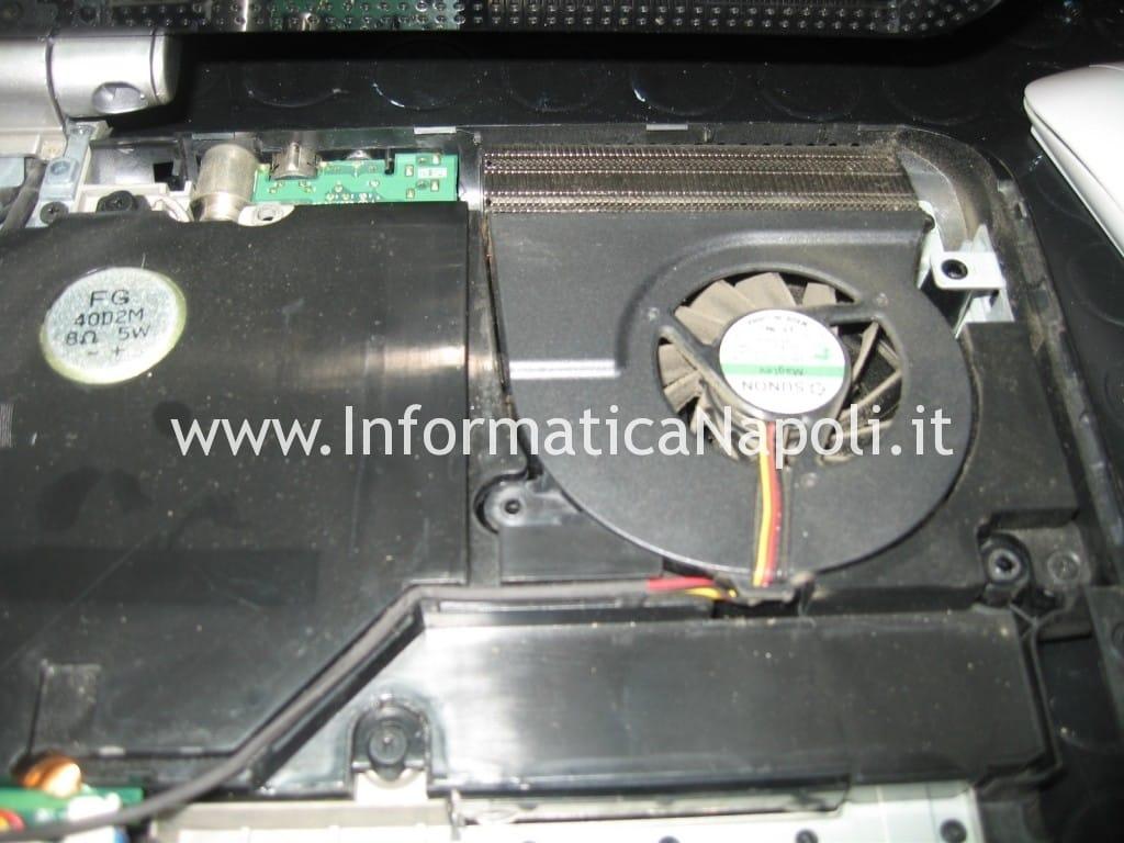 pulire ventolina HP Pavilion HDX9200 HDX9490EL