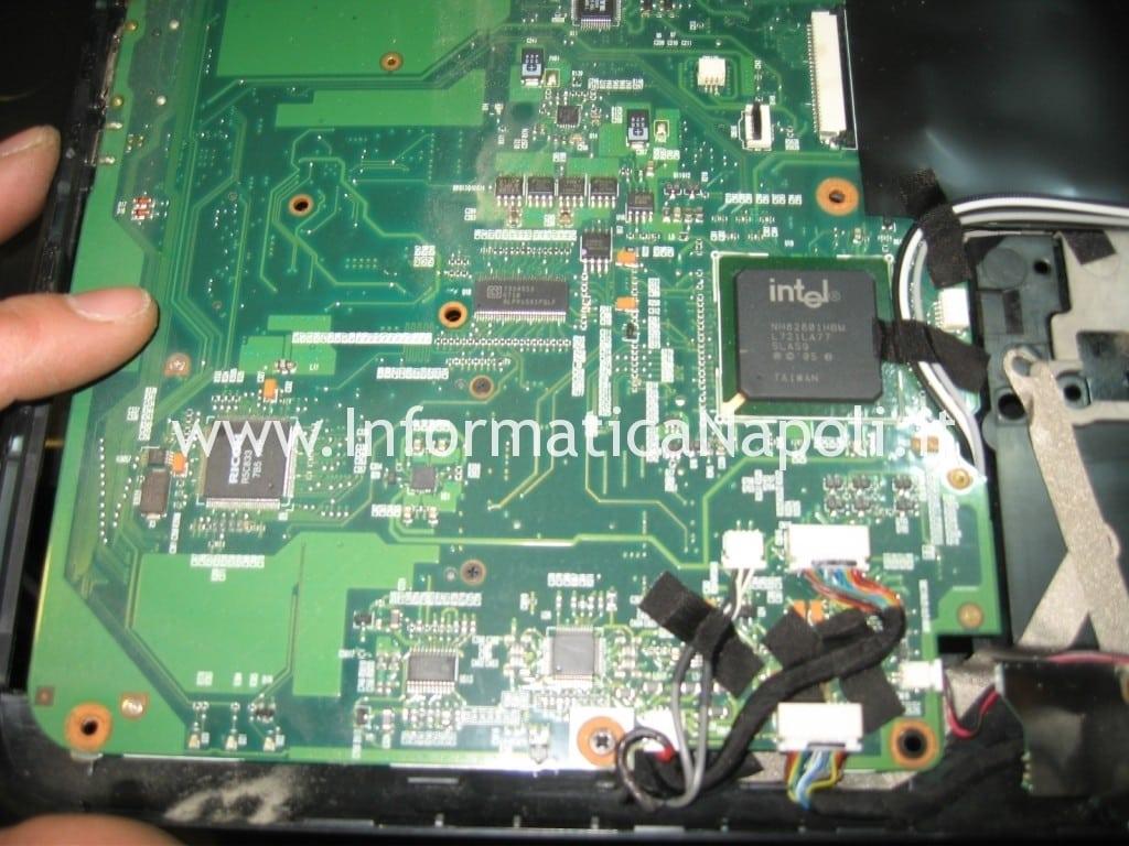 riparare scheda madre HP Pavilion HDX9000 HDX9050EL