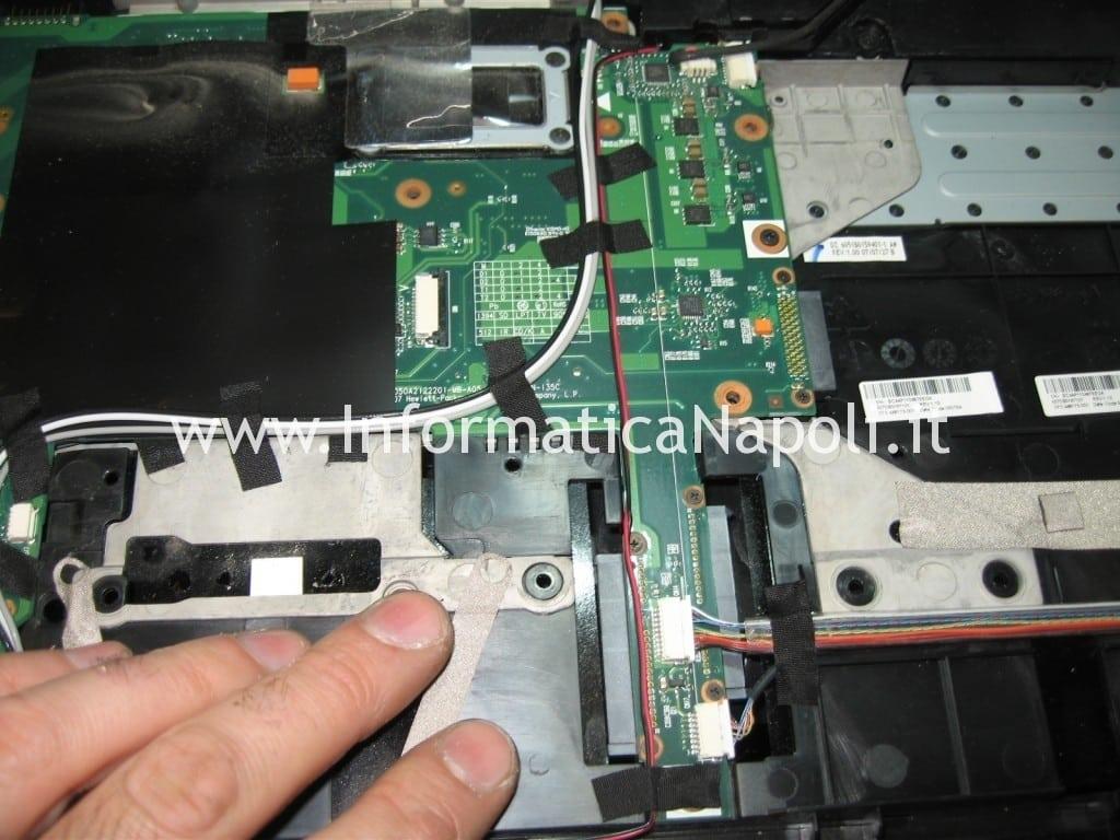 problemi scheda madre HP Pavilion HDX9000 HDX9050EL
