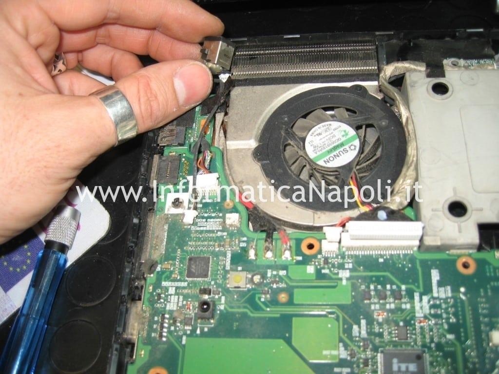pulire dissipatore HP Pavilion HDX9000 HDX9050EL