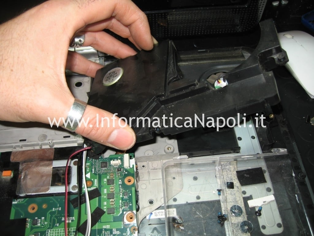 speaker HP Pavilion HDX9000 HDX9050EL