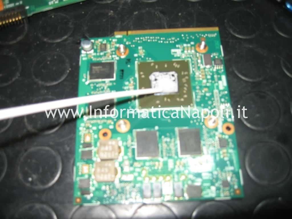 reflow reballing ATI Mobility Radeon HD 2600 Pavilion HDX9000
