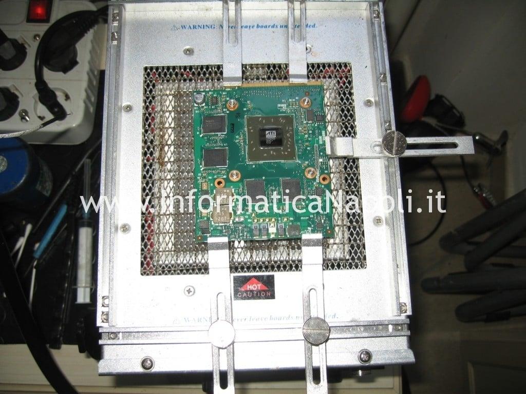 reballing ATI Mobility Radeon HD 2600 Pavilion HDX9000
