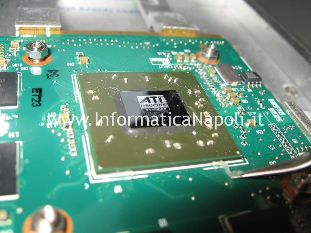 hp Pavilion HDX9000 riparazione chip video