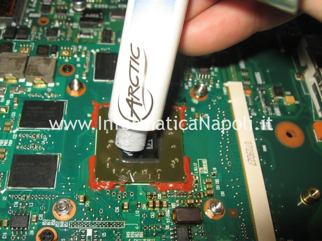 cambio pasta termoconduttiva termica hp Pavilion HDX9000