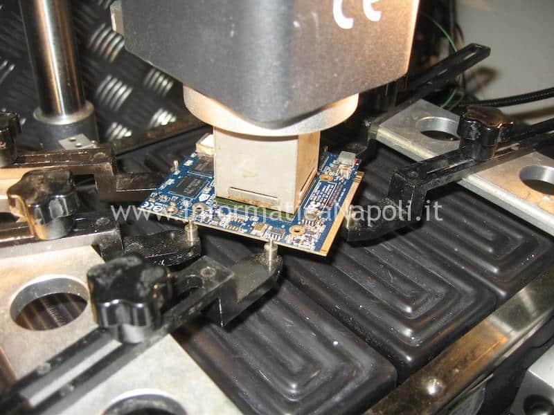 reballing ATI Radeon iMac
