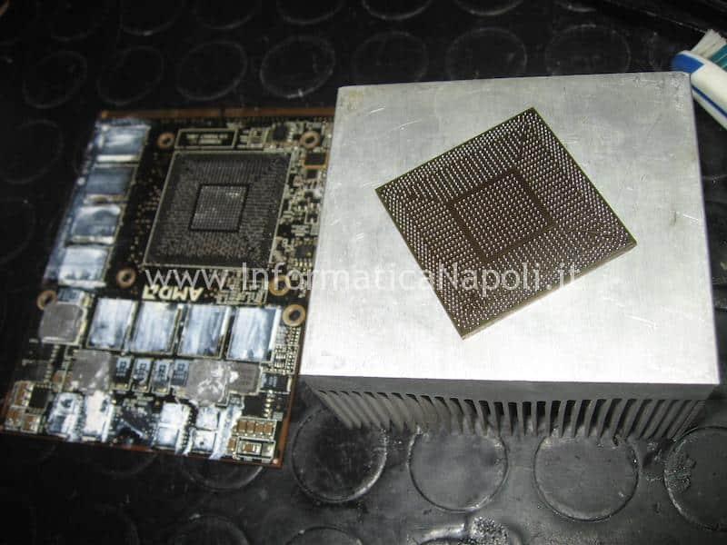 come effettuare sostituzione ATI Radeon iMac A1311 A1312