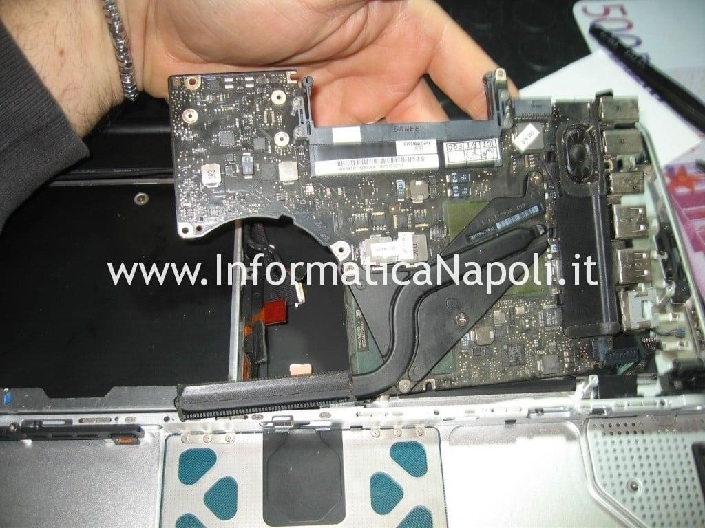 logic board non funzionante MacBook Unibody Modello A1278