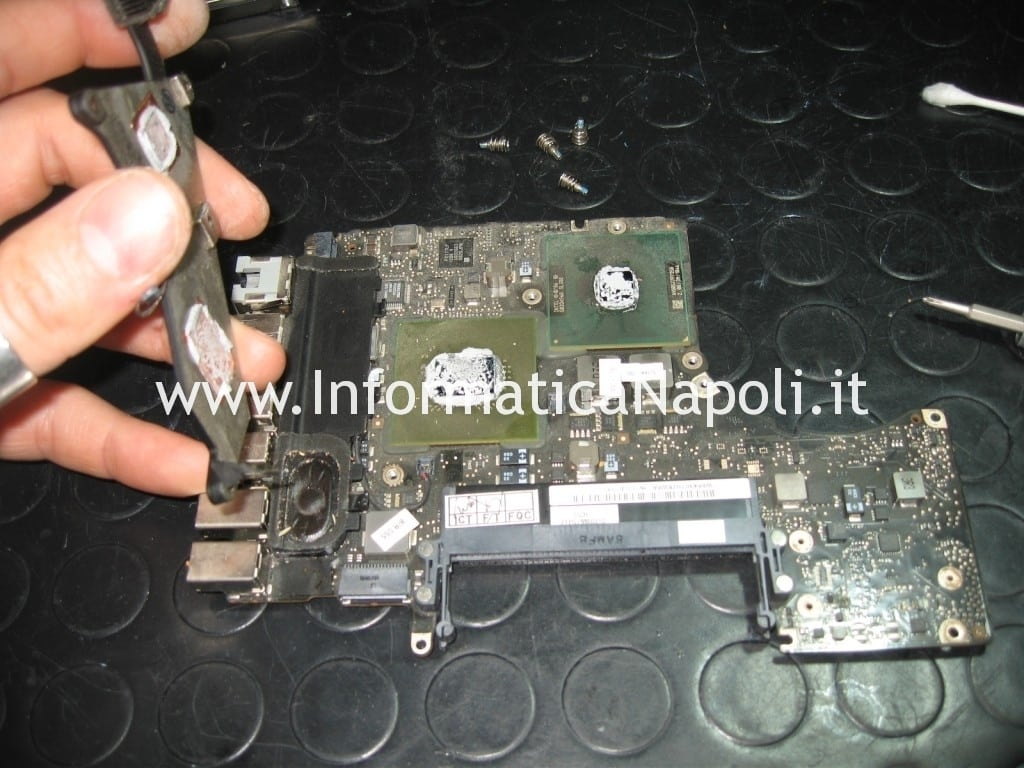 MacBook Unibody A1278 reflow nVidia