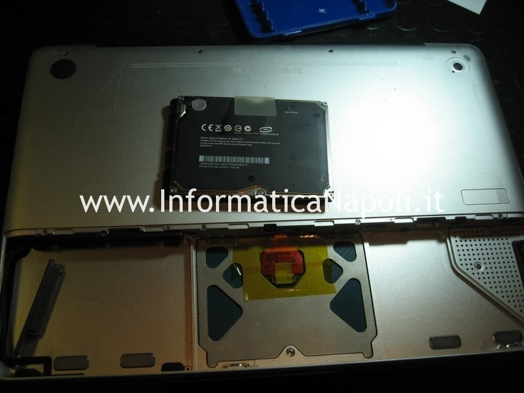 riparare MacBook Unibody A1278