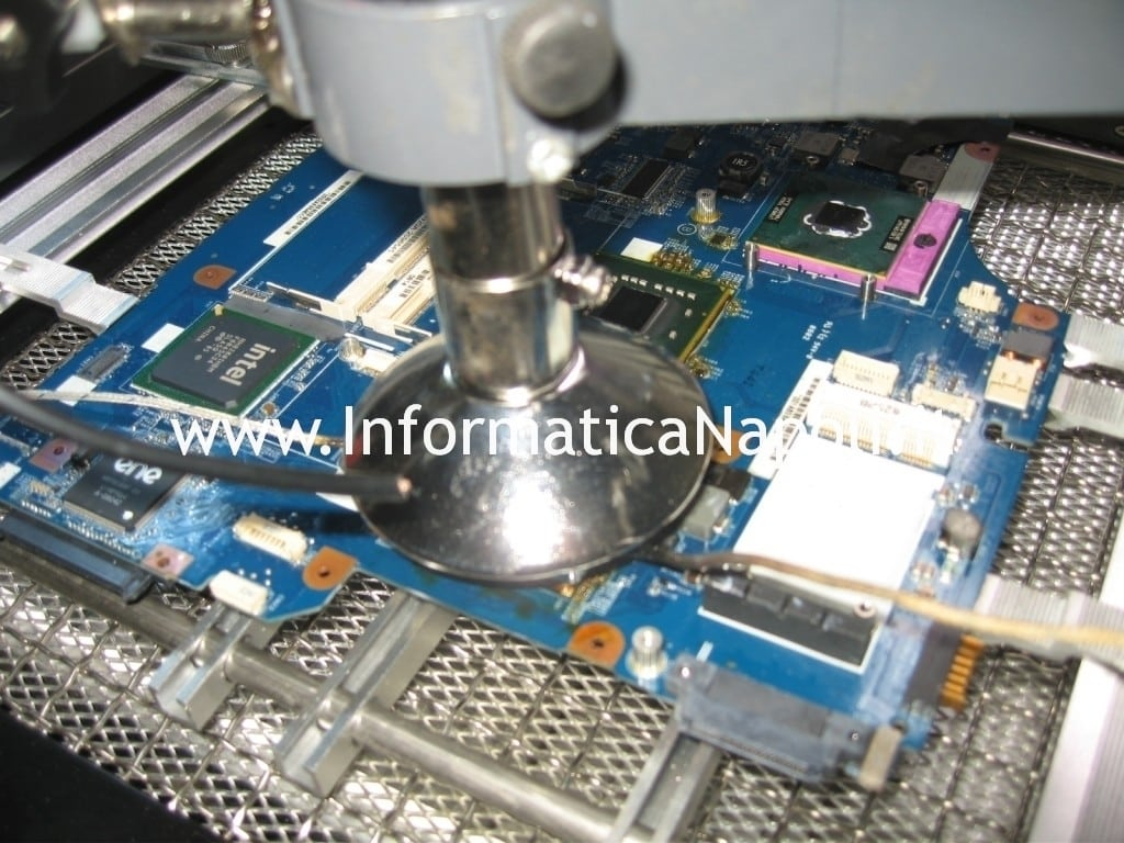 rework reflow Sony vaio VGN-NR31s PCG-7121M