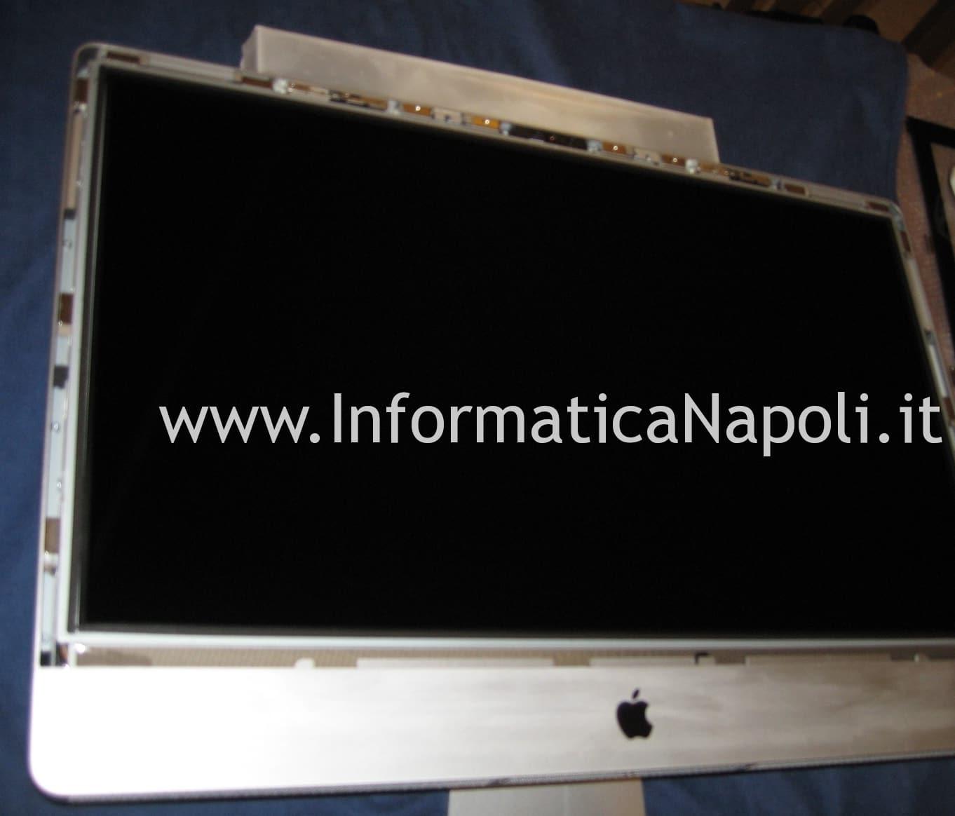 iMac 27 A1312 2009 Unibody smontare schermo