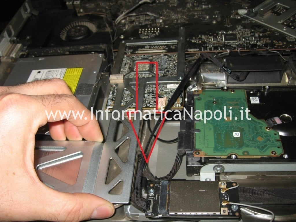 problema Apple iMac 27 A1312 2010 Unibody ATI RADEON
