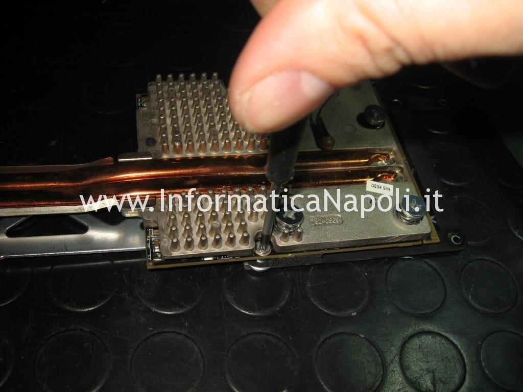 riparazione scheda video ati radeon Apple iMac 27 A1312 2010 Unibody