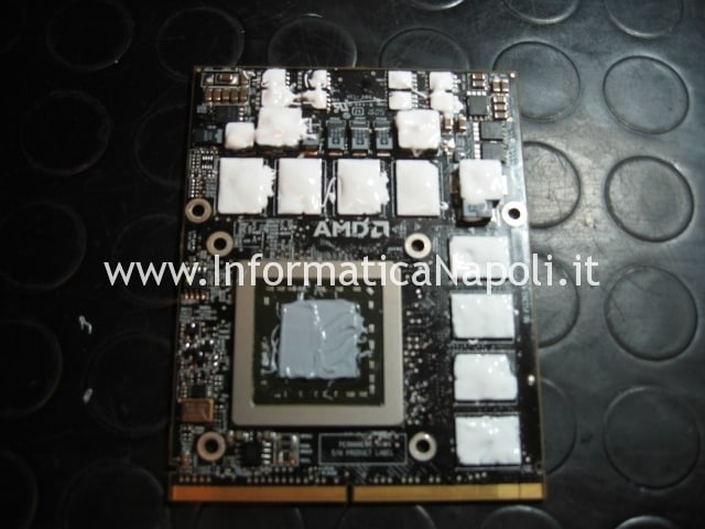 scheda video iMac riparata funzionante A1312