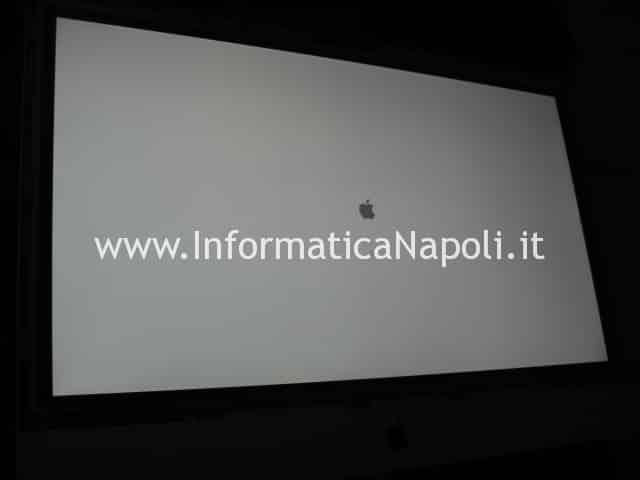 iMac 27 riparato funzionante assistenza apple