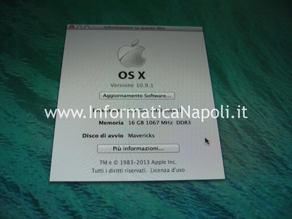 iMac 27 A1312 2010 si accende