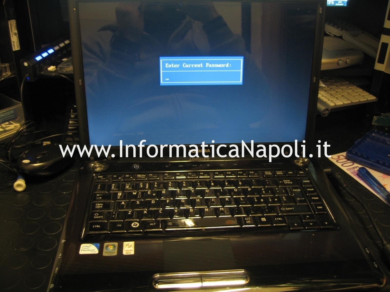 Enter current password Toshiba Satellite A300 PSAGCE