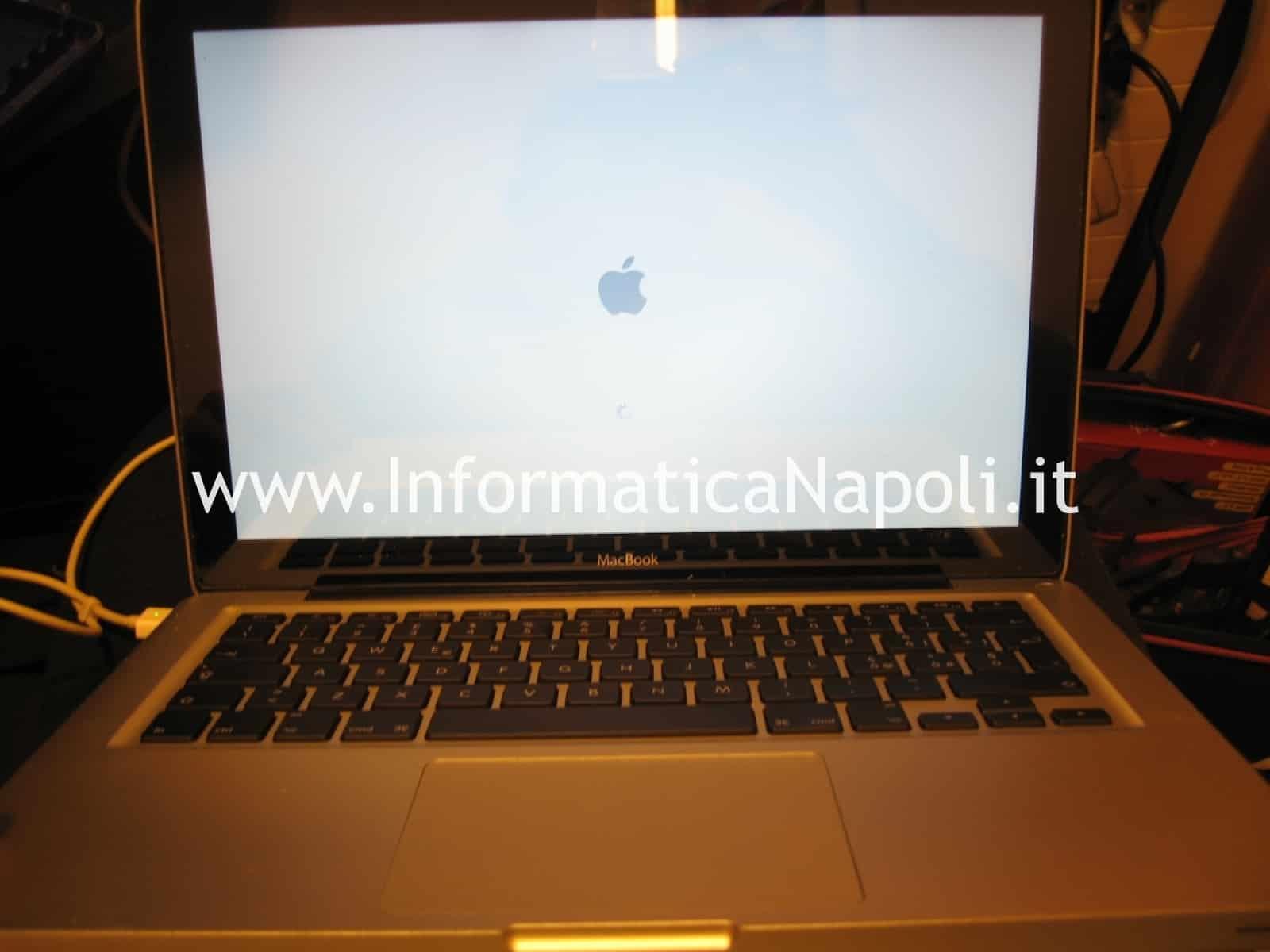 scheda video macbook unibody riparata