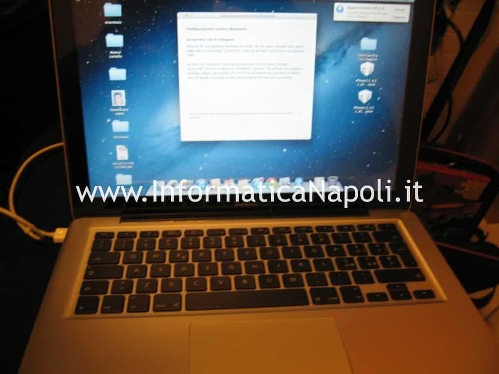 MacBook Unibody A1278 riparato