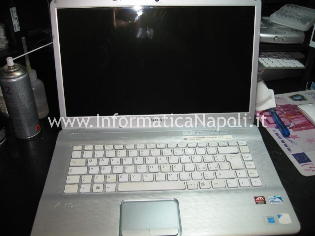 problema Sony Vaio VGN-NW31EF PCG-7192M