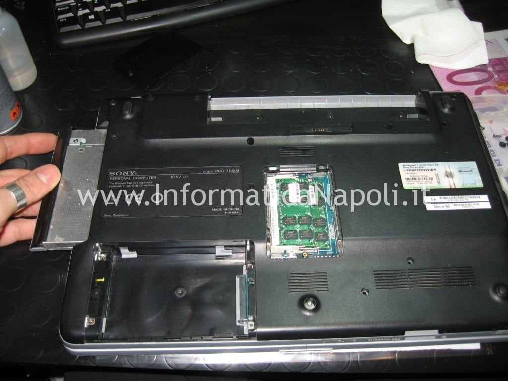 problema scheda video ATI Sony Vaio VGN-NW11S PCG-7171M