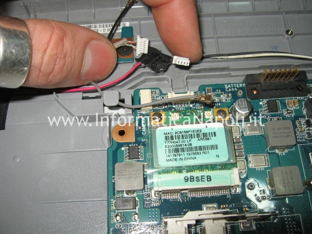 assistenza Sony Vaio VGN-NW11S PCG-7171M