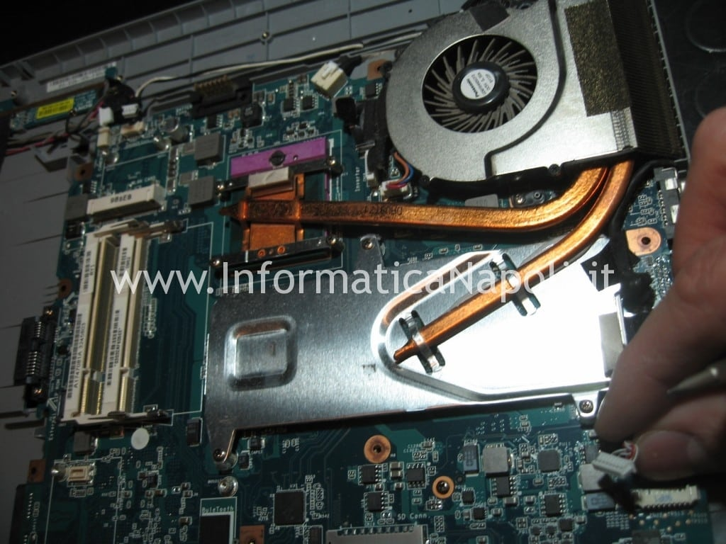 dissipatore ventola Sony Vaio VGN-NW11S PCG-7171M
