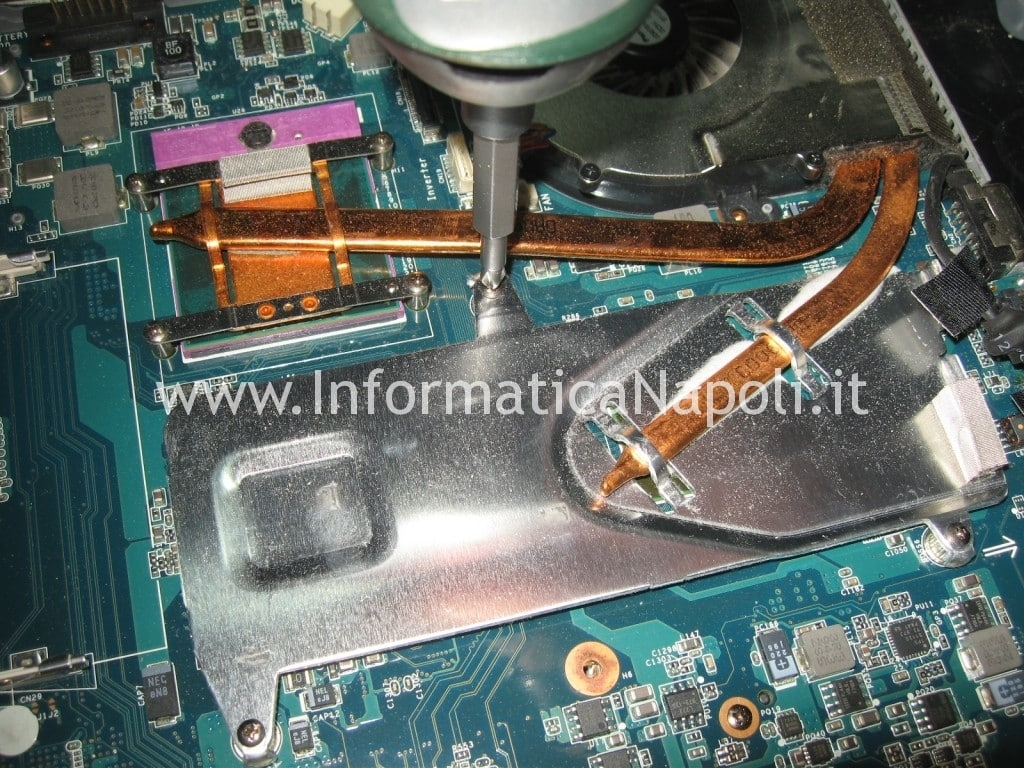 rework reflow Sony Vaio VGN-NW11S PCG-7171M