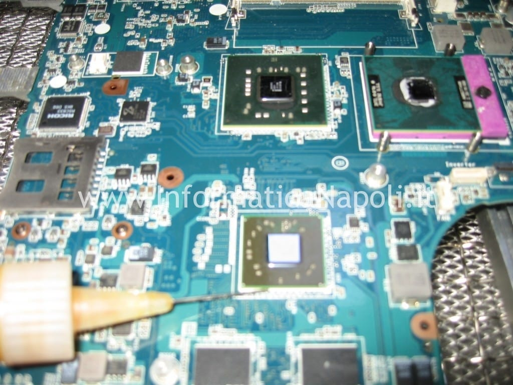 rework flussante gpu video Sony Vaio VGN-NW11S PCG-7171M