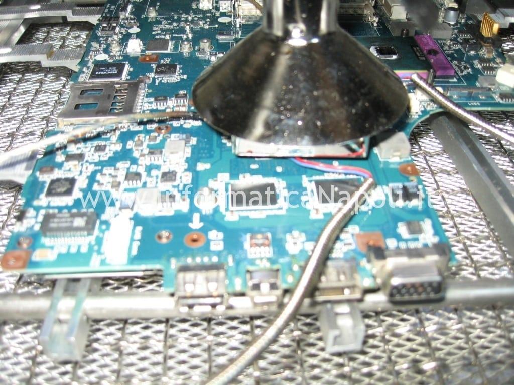 reballing gpu video Sony Vaio VGN-NW11S PCG-7171M