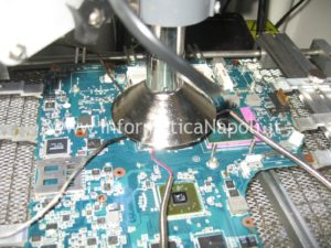 reballing chipset cpu video Sony Vaio VGN-NW11S PCG-7171M